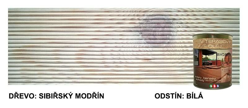 Terasový olej - Bílá UV 11 0,9lt