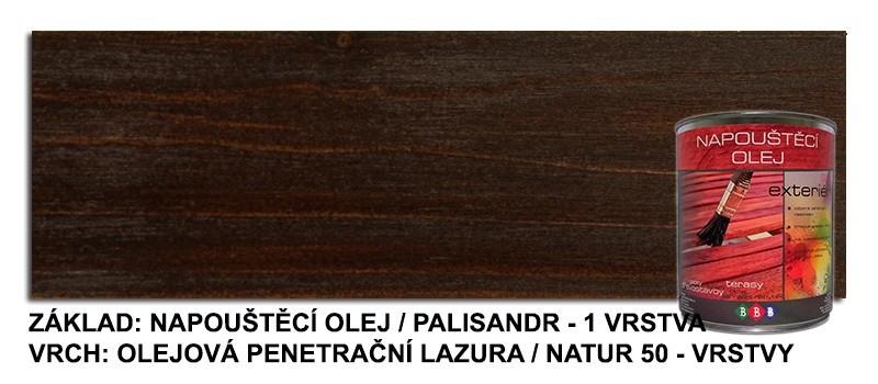 Napouštěcí olej PALISANDR 0,9lt