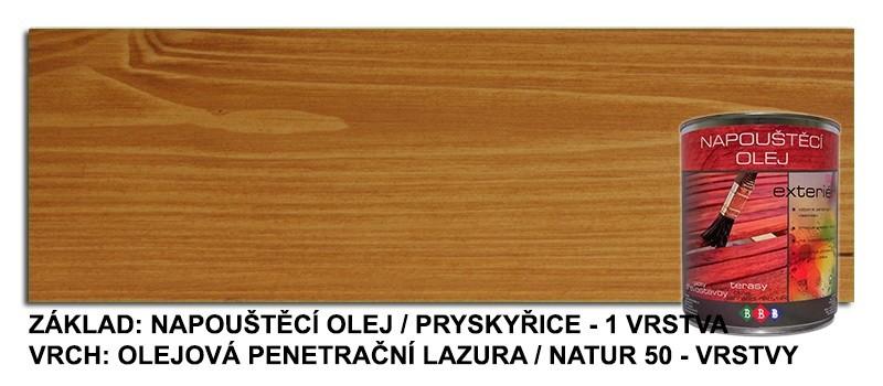 Napouštěcí olej PRYSKYŘICE 0,9lt