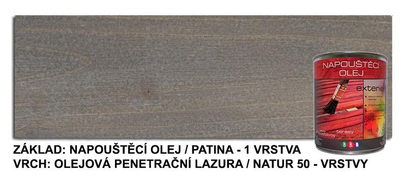 Napouštěcí olej Patina 0,9lt
