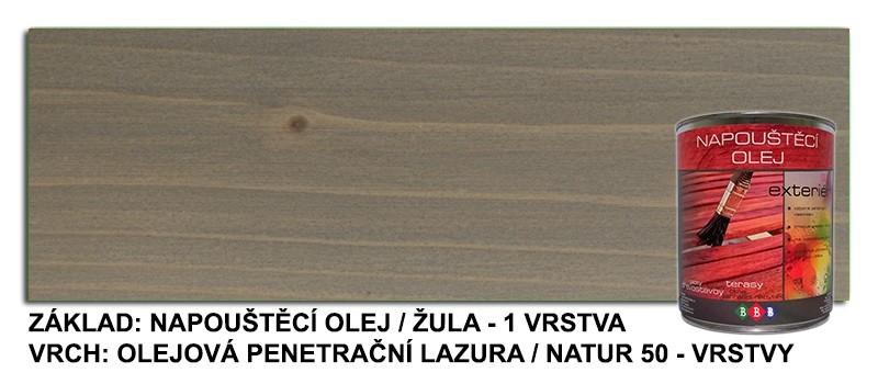Napouštěcí olej Žula 0,9lt