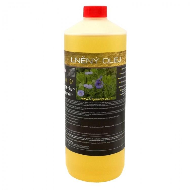 Lněný olej rafinovaný 1lt