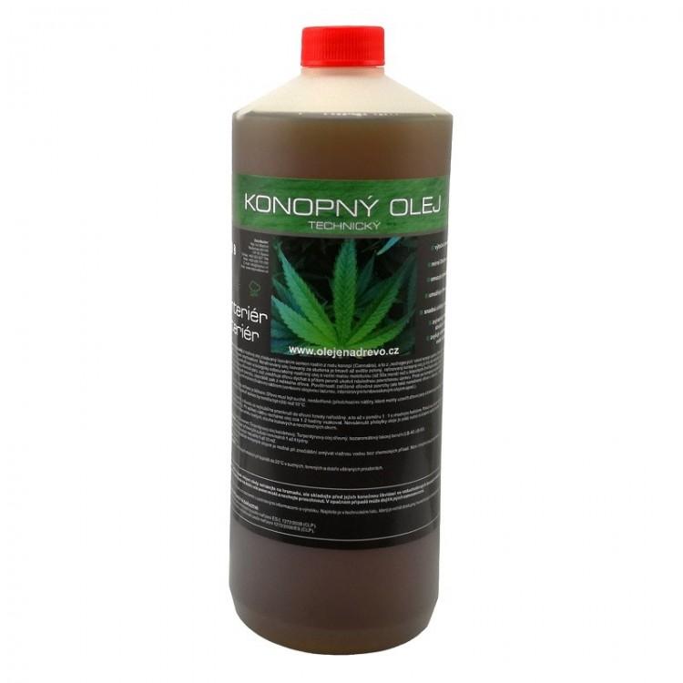 Konopný olej rafinovaný 1lt