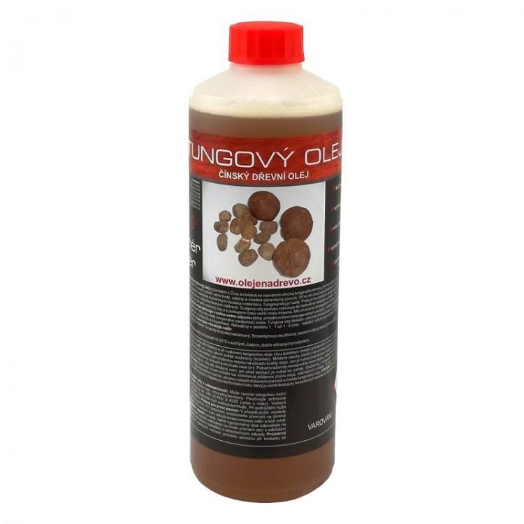 Tungový olej 0,5lt (čínský dřevní olej)